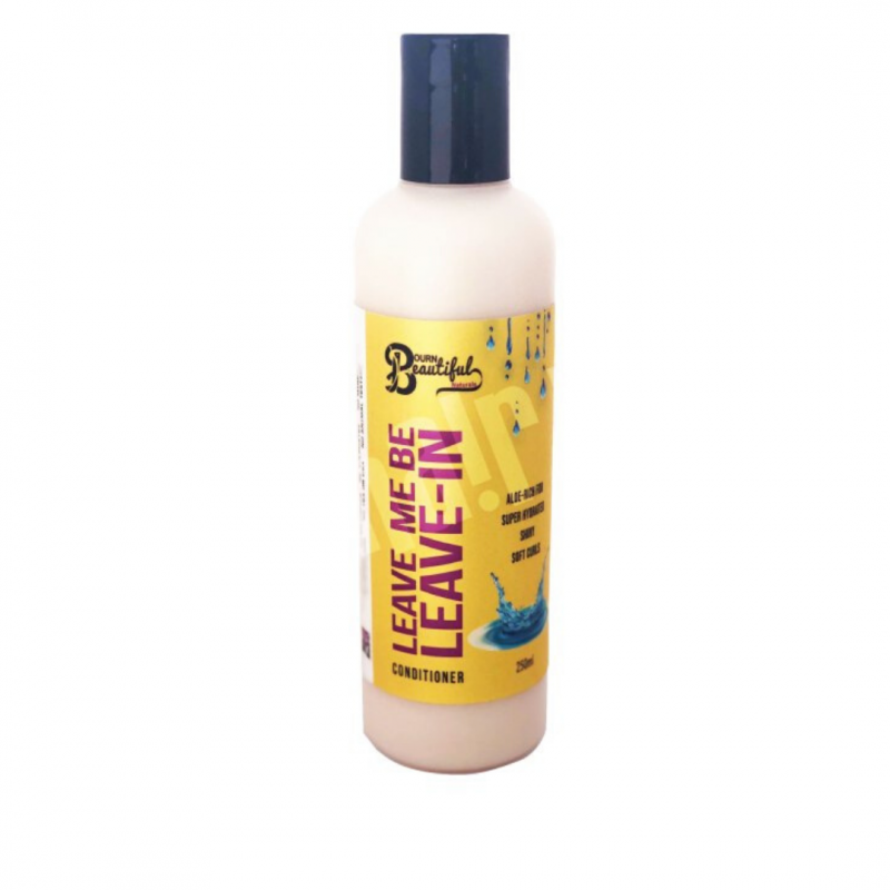 Bourn Beautiful Naturals Leave-in Conditioner Hair Popp UK black hair shop
