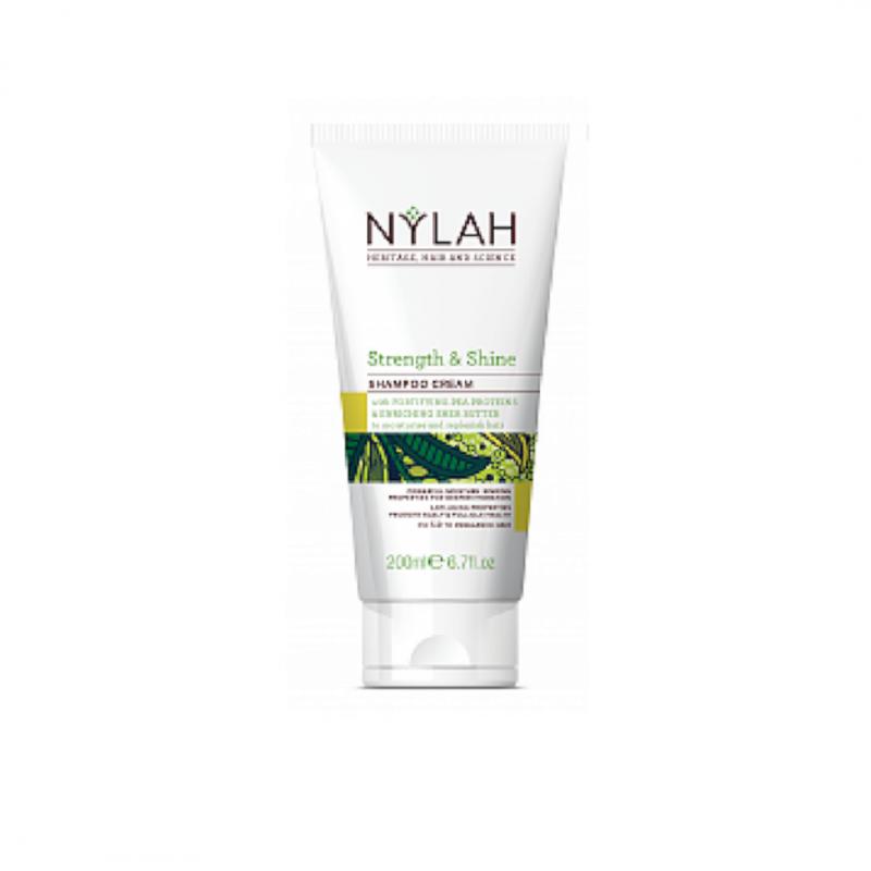 Nylah Naturals Strength and Shine Shampoo Cream Hair Popp UK Black Hair Shop