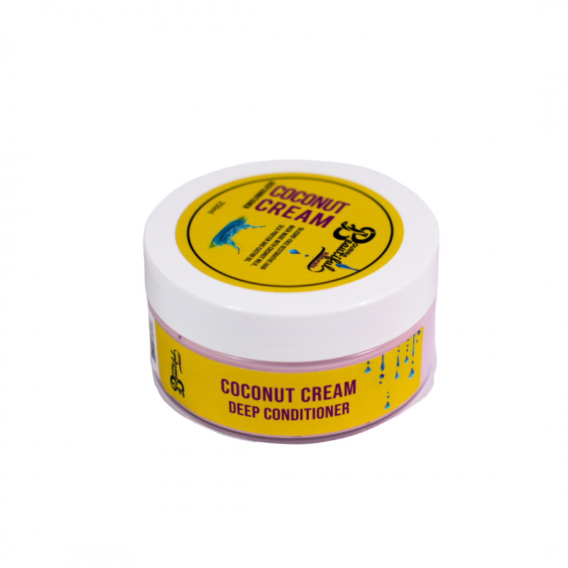 Deep Conditioner Bourn Beautiful Naturals silicone-free on hair popp UK black hair shop