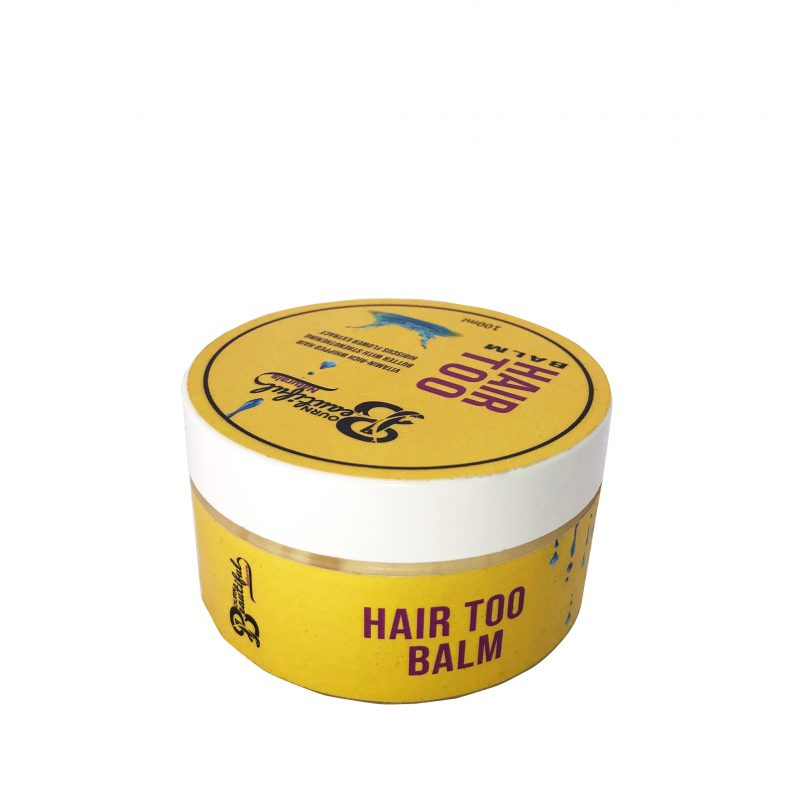 Bourn Beautiful Naturals Hair Too Balm Hair Popp UK Black Hair Shop