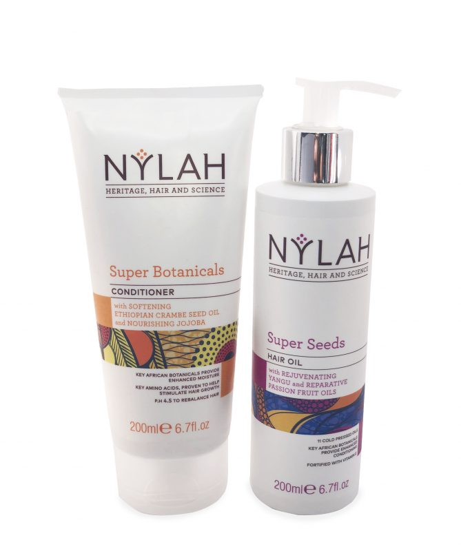 Nylah Naturals Super Botanical's Conditioner and Super Seed Hair Oil Duo